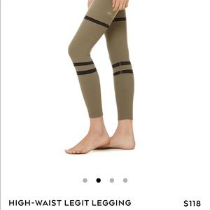 BRAND NEW JUST RELEASED olive branch XS leggings